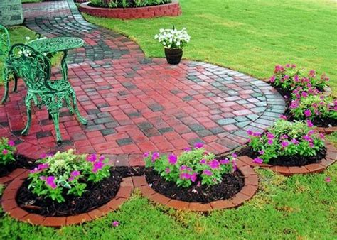 Brick Garden Edging Ideas 37 Creative Lawn And Garden Edging Ideas With Images Planted Well