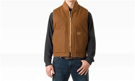 Skechers Men's Sherpa Lined Vests   Groupon