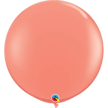 Balon Latek Jumbo Balloon Berkualitas balon jumbo 3ft coral qualatex 15883 set 2 buc radar center