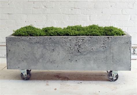 how to make concrete planters how to make a concrete planter bob vila