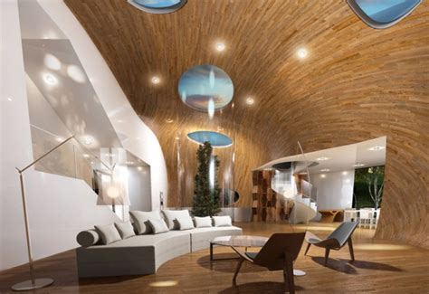 cocoon house futuristic condominium in jeju island korea