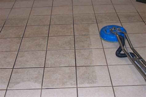 tile floor maintenance why do you need the help of tile and grout cleaning services