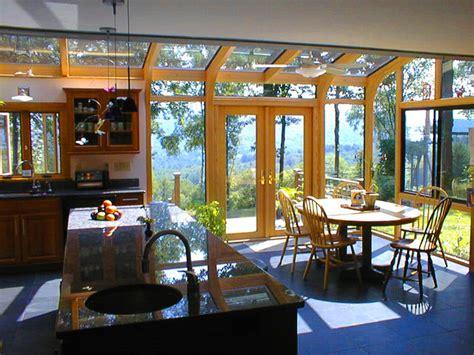 Kitchen Designers Boston by Kitchen Expansion Using A Sunroom Corner Addition
