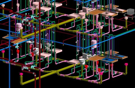 Plumbing In Revit by Revitcity Image Gallery Revit Mep Plumbing