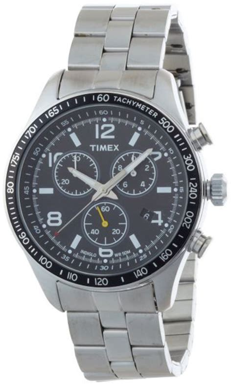 Expedition E6695mc Chronograph Silver Stainless timex s t49904 expedition rugged field chronograph