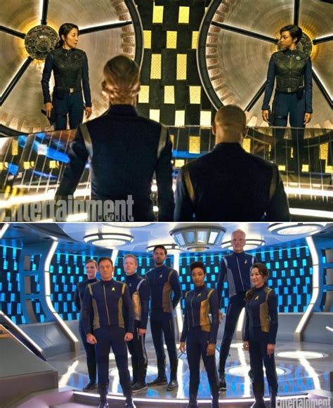 trek discovery designers reveal look and colors will evolve to be more like tos
