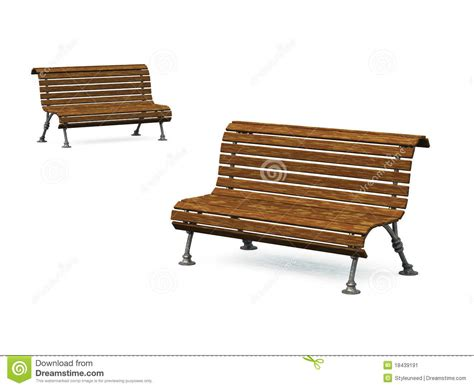 old park benches old park bench 04 stock image image 18439191
