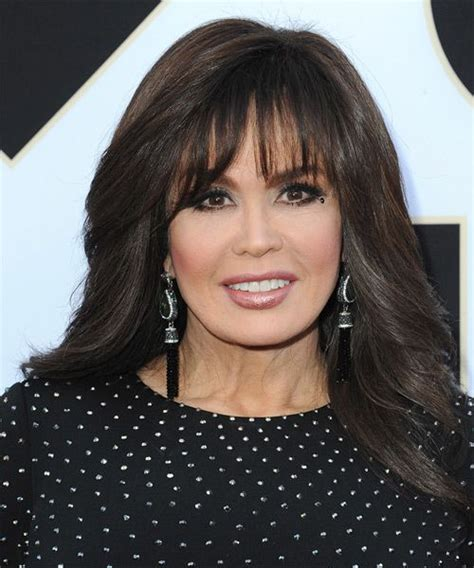 how to cut a marie osmond layered cut 231 best long straight hairstyles images on pinterest