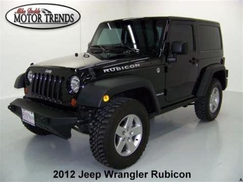 2012 Jeep Wrangler Bumper Purchase Used 2012 Jeep Wrangler Rubicon 4wd Navigation
