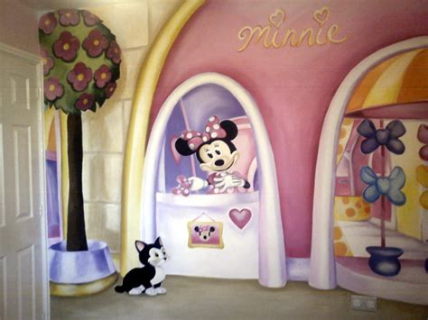 minnie mouse wall murals dreamworld creations wall murals edinburgh mural commissioned childrens murals