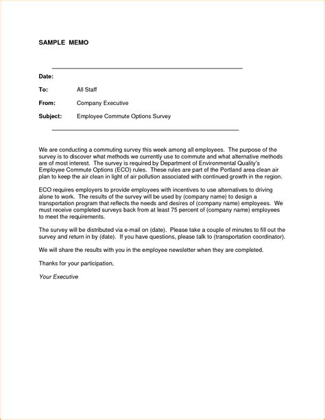 Memo Exles To Employees 10 Sle Memo To Employees Loan Application Form