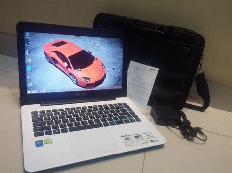 Hardisk Asus A455l jual asus a455l i3 4005u 1 7ghz 500gb nvidia gt 930m 2gb putih muluss bekas laptop asus