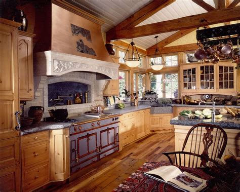 country design handmade french country kitchen remodel of wood stone