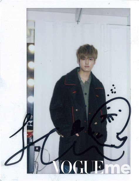 Chanwoo Ikon Polaroid ikon global 아이콘 글로벌 on quot photo vogueme weibo update of donghyuk polaroid https t co