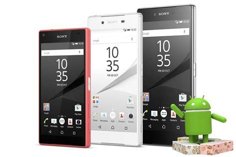 Hp Sony Xperia Z5 Series xperia z3 z4 tablet y z5 series vuelven a recibir