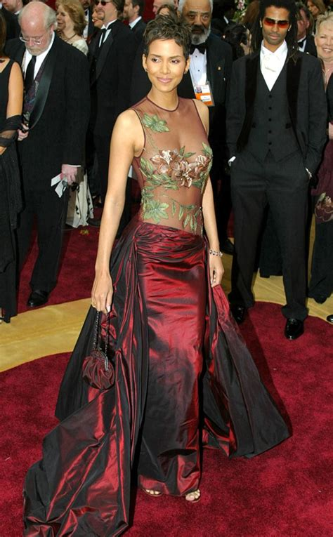 No Halle At The Oscars by Halle Berry From Top 10 Show Stopping Carpet Gowns