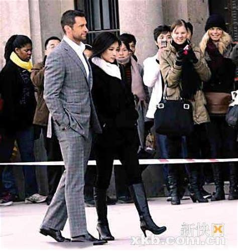 snow flower and the secret fan hugh jackman shots new film in shanghai cctv international