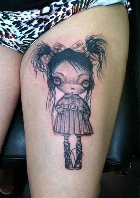 tim burton tattoo pinned by pinner