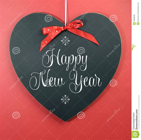happy  year message greeting stock photo image