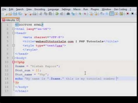 php tutorial youtube in hindi php tutorials in hindi english 11 concatenation operator