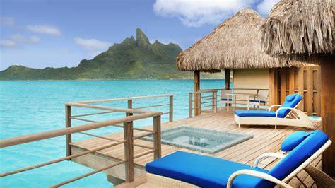 bora bora water bungalow prices st regis bora bora luxury hotel in polynesia