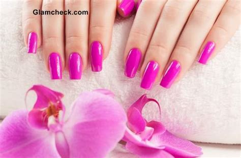 Neutral Color Pink Nails Various Shades Of Pink Nail Polish