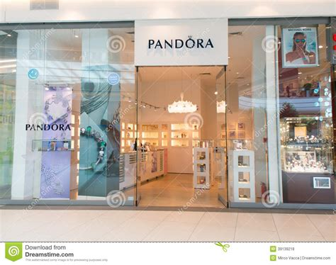 pandora jewelry store pandora jewelry store editorial stock photo image 39139218