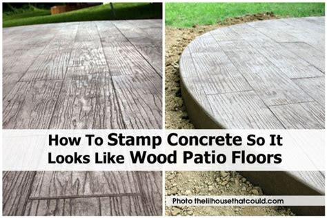 how to make sted concrete patio how to instructions