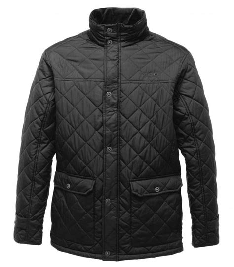 country style jackets regatta rigby mens quilted padded smart casual country