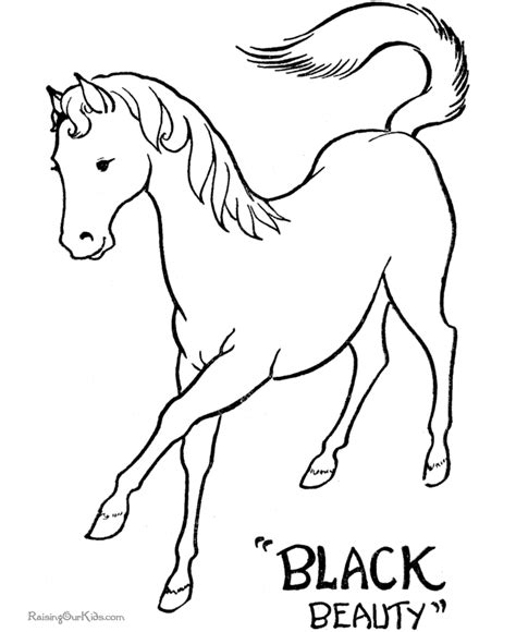 printable horse art printable coloring pages of horses to color