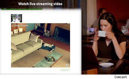 yourself comcast creepy home security cameras