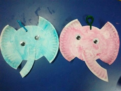 Paper Plate Elephant Craft - 1000 ideas about preschool elephant crafts on