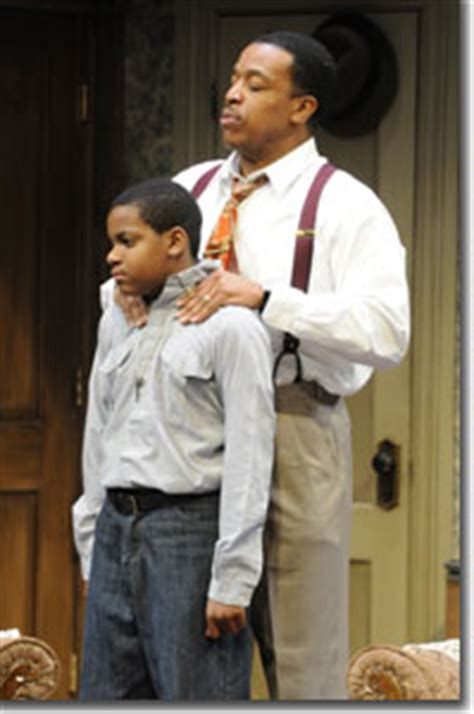 theme of assimilation in a raisin in the sun left to right tyler palmer as travis younger and russell