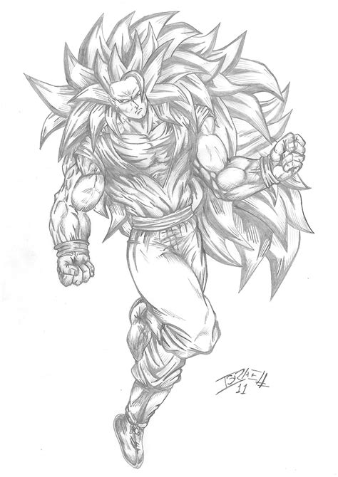 goku ss3 coloring pages free coloring pages of goku fase 3