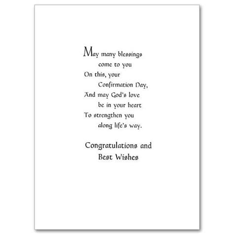 Confirmation Greeting Card Template by On Your Confirmation Confirmation Card Card Wording