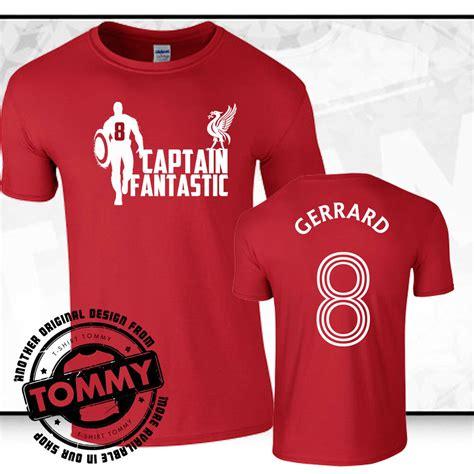 Tshirt Liverpool Fc 4 liverpool fc steven gerrard t shirt t shirt