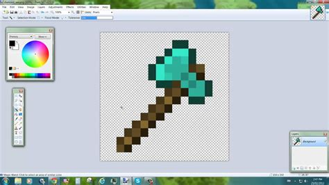 paint net make background transparent minecraft transparent background www imgkid the