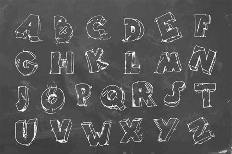 design font blackboard 20 chalk font fonts design trends premium psd vector