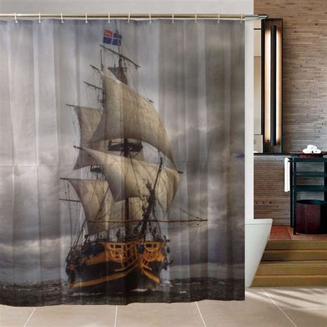pirate ship shower curtain best 218 pirate bathroom images on pinterest other
