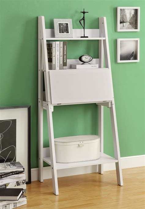 White Leaning Desk Remodel Inspiration Homesfeed White Leaning Desk
