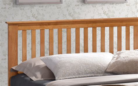 Bedhead And Frame Time Living Turin Wooden Bed Frame Mattress