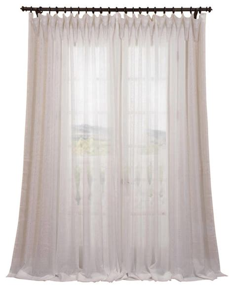wide white curtains signature double wide off white sheer curtain single panel