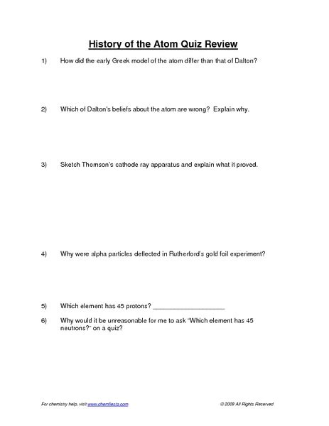 History Of The Atom Worksheet Answers by 12th Grade Math Worksheets With Answers Fraction