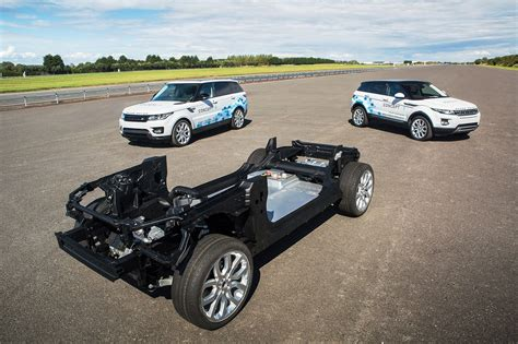 Electric Jaguar Land Rover Techfest E Motors Air
