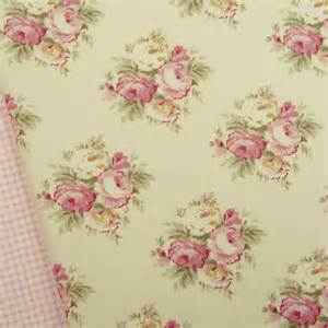 shabby chic quilting fabric tilda apple bloom lizzie pink fabric quilting floral