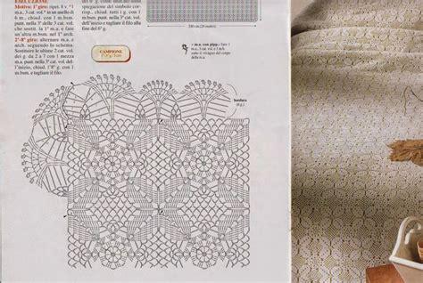 copriletto uncinetto schemi gratis pi 249 di 25 fantastiche idee su schema copriletto all