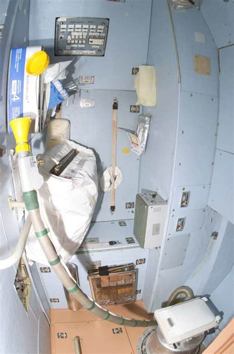 using the bathroom in space the scoop on space poop how astronauts go potty