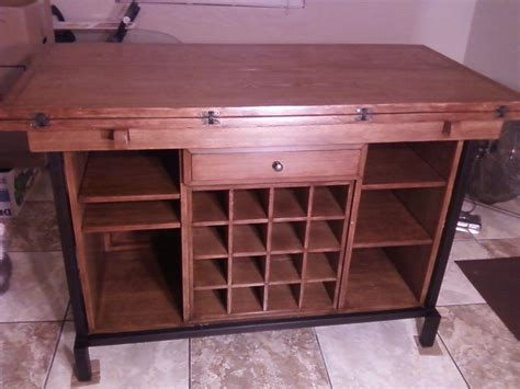 kitchen island buffet kitchen buffet island dining table with wine display