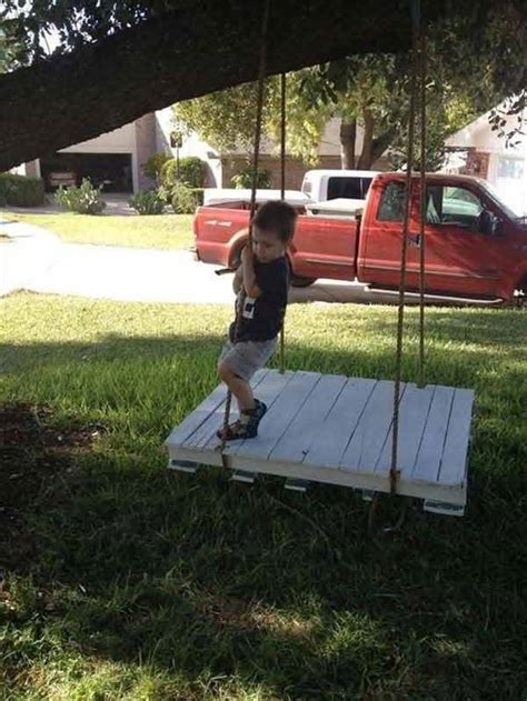 multi person swing 15 playful diy backyard playgrounds perfect for your kids