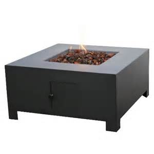 gas pit target threshold square propane pit black